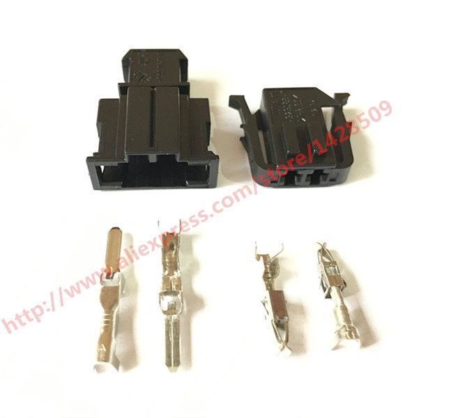 US $4.1 |5 Set Male Auto 2 Pin ABS Sensor Wire Harness Connector   Wire Harness Connector on