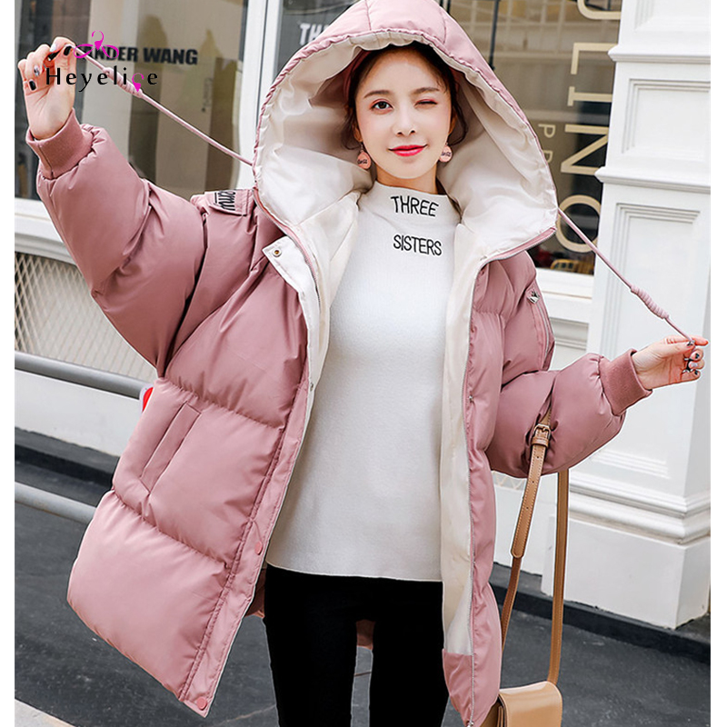 Pregnant Women Cotton Coat Winter New Maternity Clothings Loose Hooded Long Section Of The Tide Mother Jacket Coat Winter Pregnant Women Cotton Coat Winter New Maternity Clothings Loose Hooded Long Section Of The Tide Mother Jacket Coat Winter