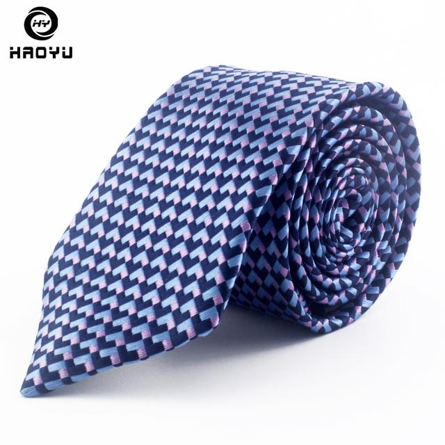 Nova Moda Homens Pescoço Laços de Seda para Homens Jacquard Corbatas Laços Marinha Festa de Casamento de Negócios Gravatas Corbatas Hombre 2016