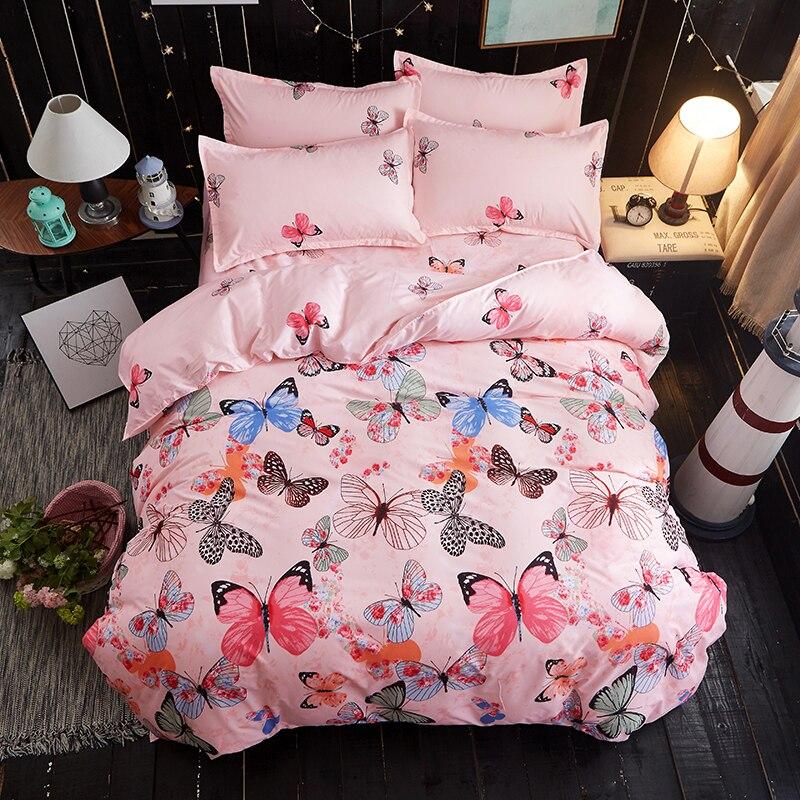 Home Textile Logical 2019 Home Textile Meteor Winter 3/4pc Bedding Set Luxury Comfortable Bedclothes Duvet Cover Bed Linen Convenient To Cook