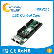 Nova MRV210 cartão de controle de LED Smd P3 P4 P5 tela led HD display de tela grande cartão receptor