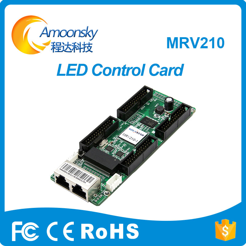 Nova MRV210 LED control card Smd P3 P4 P5 screen HD led large screen display receiver card title=