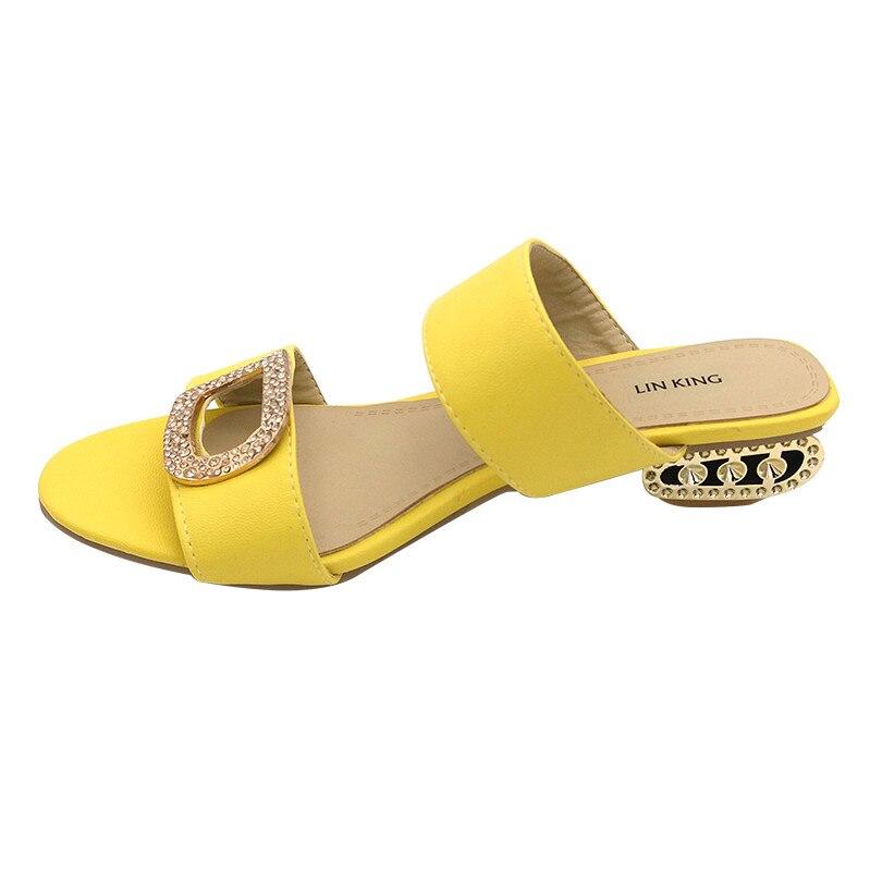 LIN KING/Элегантная летняя обувь; женские шлепанцы; сандалии; повседневные женские шлепанцы; модные шлепанцы с блестками в богемном стиле; боль...