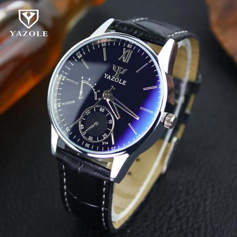 Brand New Luxury Fashion Faux Leather Mens Quartz Analog Watch Casual Male Business Watches Top Quality Black Brown wolf empire женские юбки в клетку
