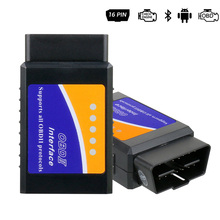 ELM327 OBD2 V1.5 Bluetooth Car Elm 327 odb 16 Pin Code Readers Diagnostic Tool odb2 Auto pic18f25k80 eml327 Automotive Android