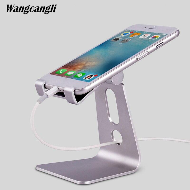 Wangcangli Вращающийся tablet держатель телефона для iphone7plus универсальный сотовый настольная подставка для телефона Tablet Стенд мобильный поддержка…