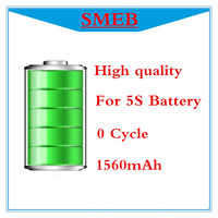 Free Shipping 10pcs Lot 100 Genuine 0 Cycle High Quality 1560mAh Replacement Li Ion Battery For