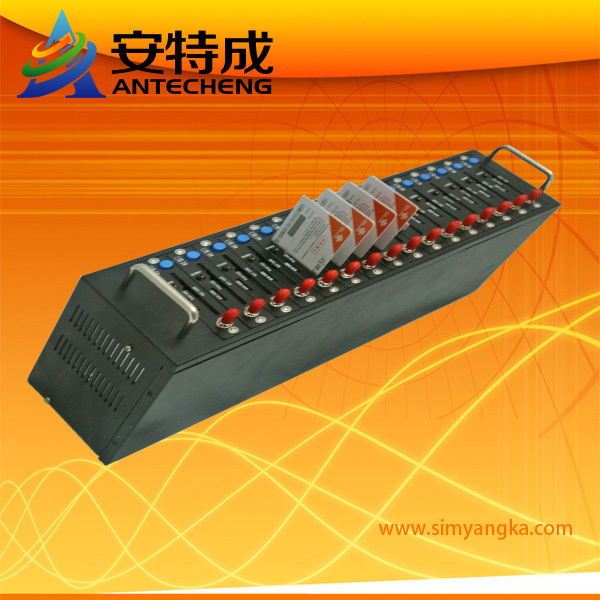 16 port modem pool TC35i for bulk sms sending and mobile recharge