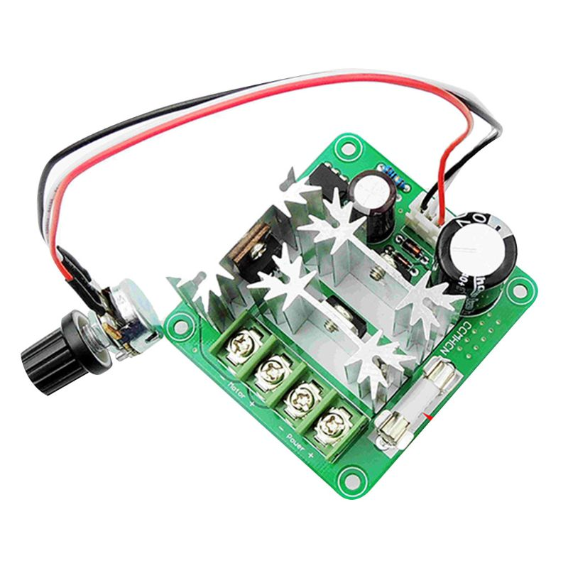 Dc6v-90v 15a Pulse Width Pwm Dc Motor Speed Controller Switch Electrical Equipments & Supplies Confident Funn Motors & Parts