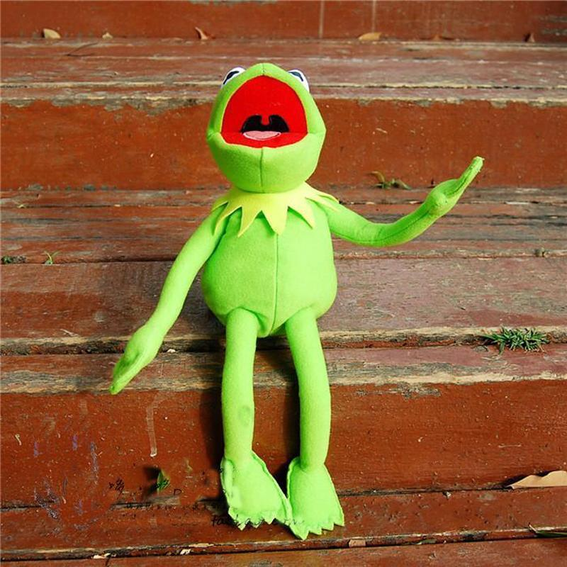 The Muppets Kermit The Frog Soft Plush Stuffed Toy 45cm gift
