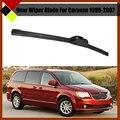 Car Rear Windscreen Windshield Soft Rubber Wiper Blade Frameless For Dodge Caravan 1996-2007
