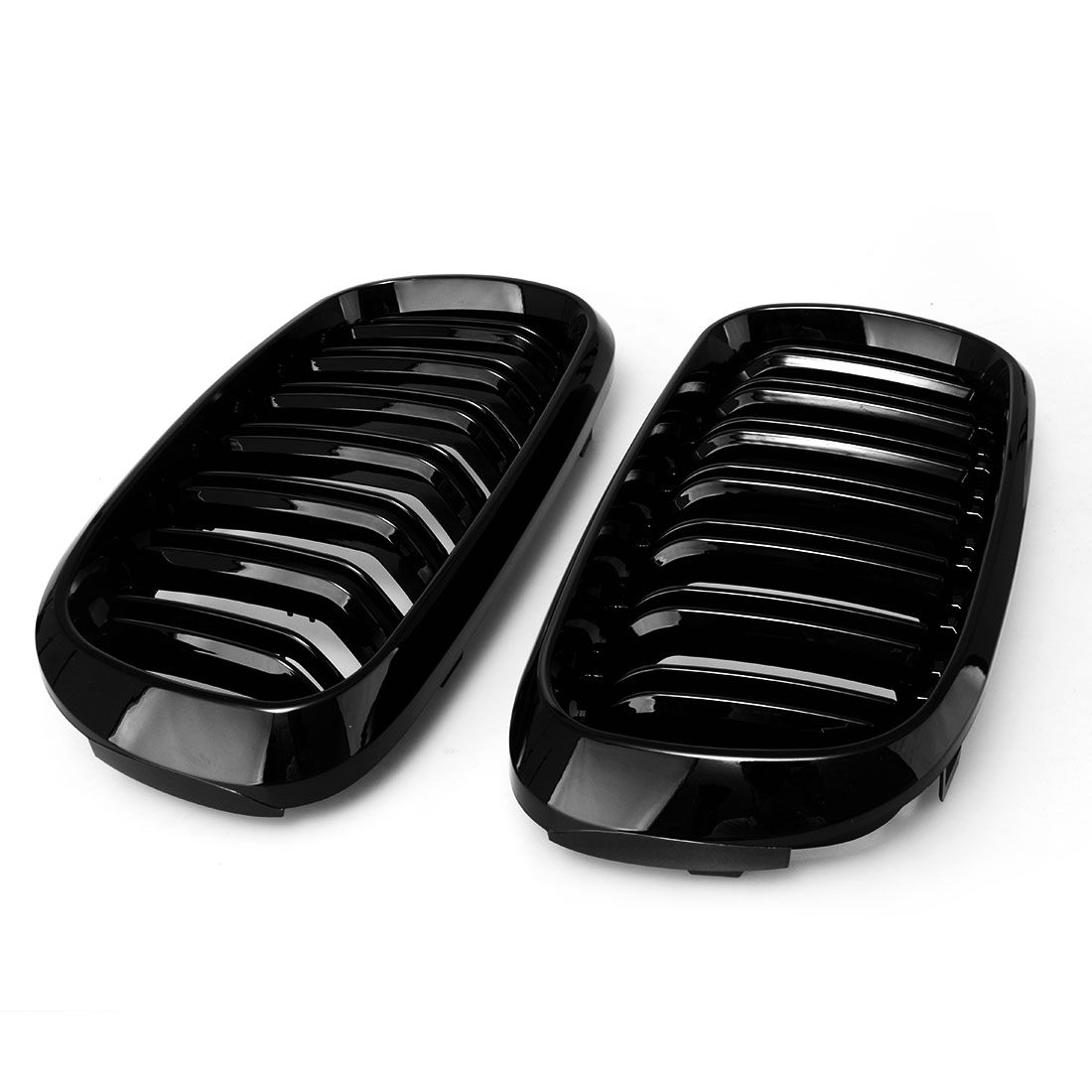 Grille For BMW X5 F15 gloss black Car Front Center Wide Kidney Double slat Grill Racing Grill Car styling
