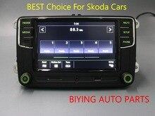AIDUAUTO RCD330 Plus Radio Green Button light For Skoda Octavia fabia 187A 6RD 035 187 A/6RD035187A