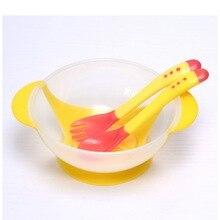 Миски помочь присоской блюда измерения посуда ложка температуры детское обучение шт./компл.