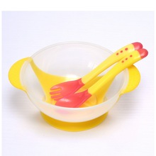 Assist sensing dishes tableware bowl learning temperature suction spoon cup food