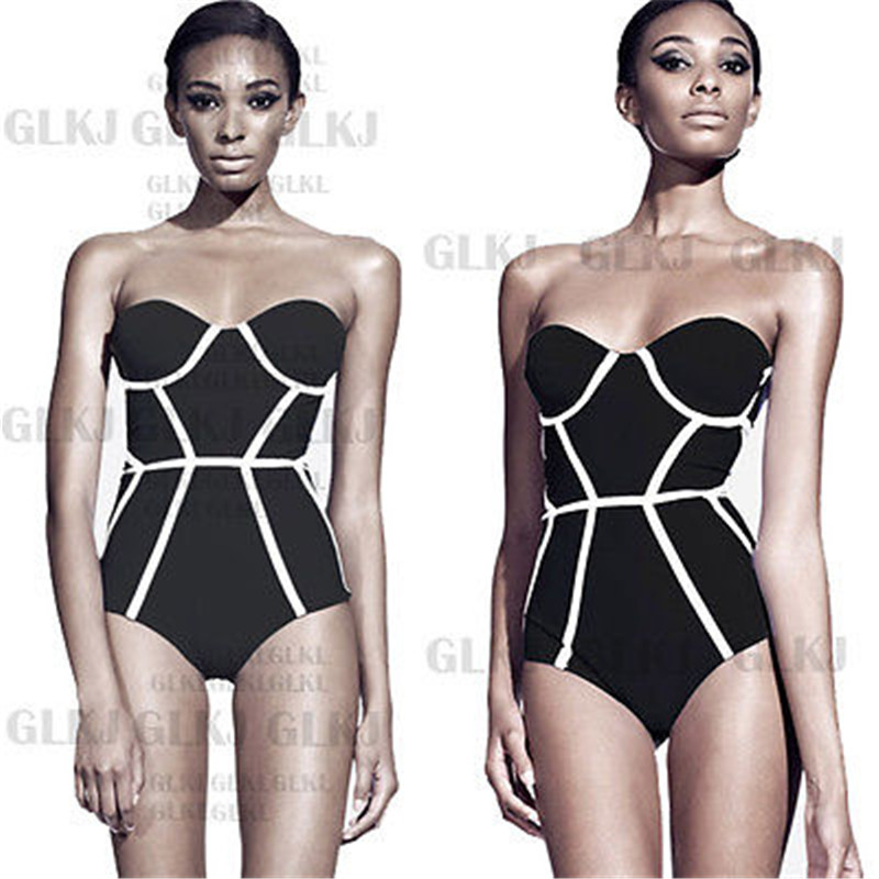 ITFABS Summer <font><b>Sexy</b></font> <font><b>Black</b></font> Curve Push up <font><b>swimsuit</b></font> <font><b>one</b></font> <font><b>piece</b></font> <font><b>Swimsuit</b></font> Monokini Bikinis <font><b>2018</b></font> <font><b>Swimwear</b></font> maillot de bain femme image