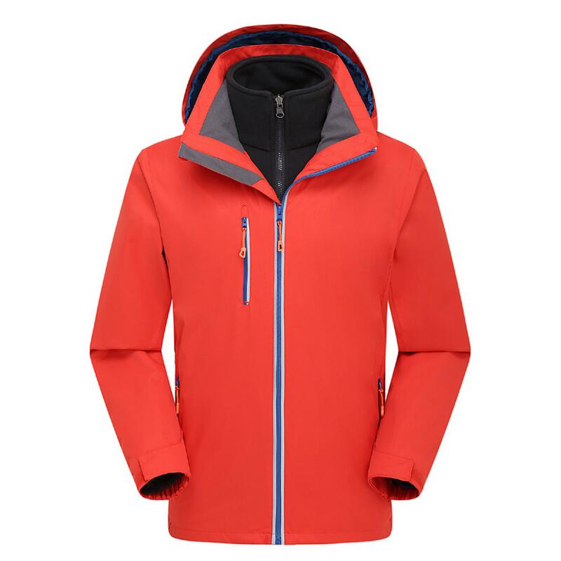Warm waterproof winter jacket for men outdoors hiking Travel Mountain climbing leisure trekking man jacket coat men women winter waterproof mountain clothes climbing hiking overcoats thicken fleece lined warm outwear jacket coat for lovers