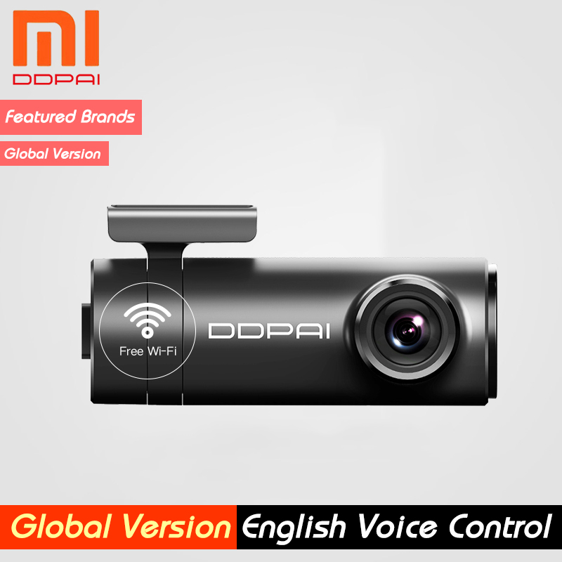 Ddpai Cam-Camera Body-Power-Interface Rear-Record Dash Xiaomi Mini Mijia Front English