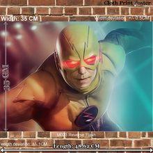 Pano art Print Poster para filme M023 reversa Flash largura 35 CM comprimento 48.6 CM