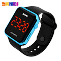New SKMEI Brand Women Digital Fashion Casual LED Watch Waterproof Outdoor Sports Watches Boy Girl's Student Popular Wristwatches