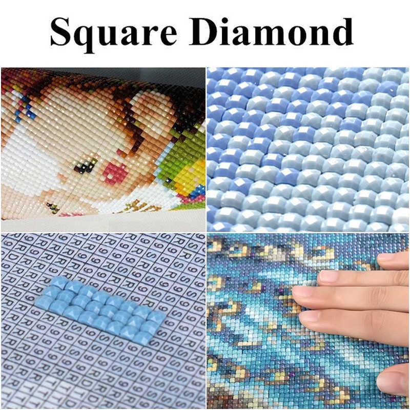 Распродажа вышивки 5D алмазная Вышивка крестом животное голубь Роза картина украшение дома полный квадратный картина картины на стену ручной работы
