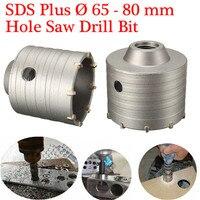 1 шт. SDS-plus отверстие Пилы Бурильные долото 65/80 мм использоваться для нестандартных угол Утюг и Другое металла открытое отверстие Лучшая цена