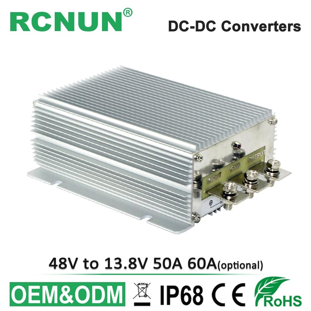 Non isolated 30 60V to 13 8V DC DC Converter Step Down 36V 48V to DC13