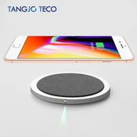 Mini Qi Wireless Charger USB Charge Pad For IPhone X 8 Plus Samsung Galaxy S8 Plus