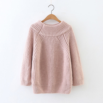 Autumn  Thick needle pullover Knitted Sweater Women Winter Pullover Female knit Jumper Pull Femme sweater