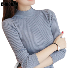 Knitting Sweater Full Sleeve Women Turtleneck Sweaters And Pullovers Autumn  Winter Fashion Korean Style 2018 New 93a089d98
