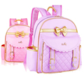 New Fashion Girl School Bags Girls High Quality PU Children Backpack School Backpacks Child Book Bag