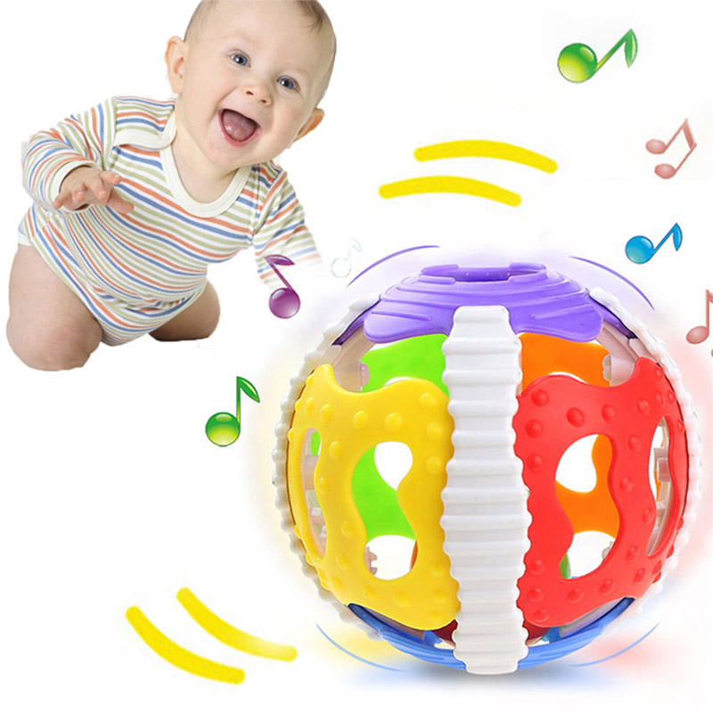 Funny Baby Toys Little Loud Bell Ball Rattles Mobile Toy Baby Speelgoed Newborn Infant Intelligence Grasping Educational Toys