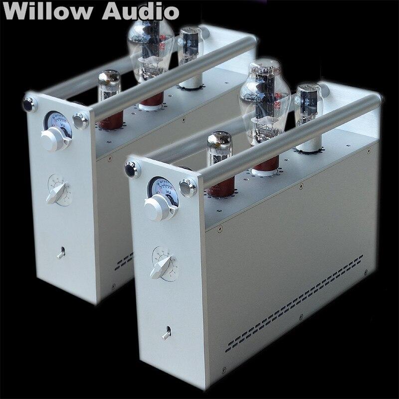 Produit fini A80 300B amplificateur à tube unique séparation des canaux gauche et droite amplificateur à tube pur classe A voix noble