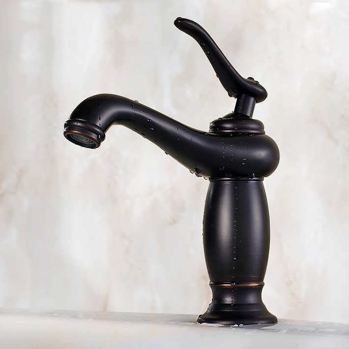 Torneiras para pia de banheiro deck mounted single handle  hole Bathroom Sin -> Pia Oara Banheiro