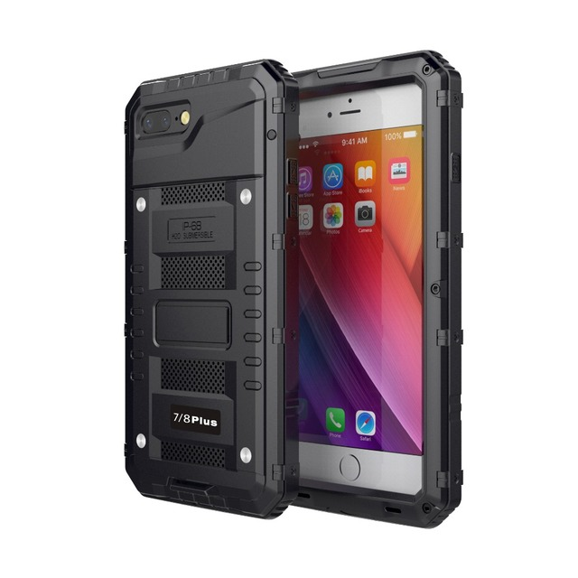 Idealforce For iphone X Case Heavy Duty with Built-in Waterproof for 6 6S 7 8 Plus