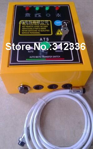 все цены на Fast Shipping 6 pins 5kW ATS Single Phase 220V Gasoline Generator controller Automatic starting system Auto Start Stop Function онлайн