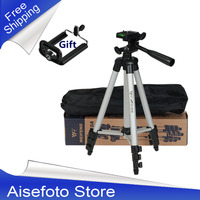 NEW Tripod With 3 Way HeadTripod For Nikon D7100 D90 D3100 DSLR Sony NEX 5N A7S