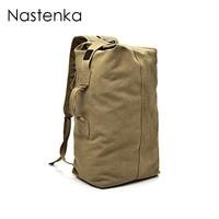 Nastenka Unisex Canvas Rucksack Men Travel Duffle Bags Women Canvas Backpacks Male Large Capacity Travel Backpack Men Sac A Dos