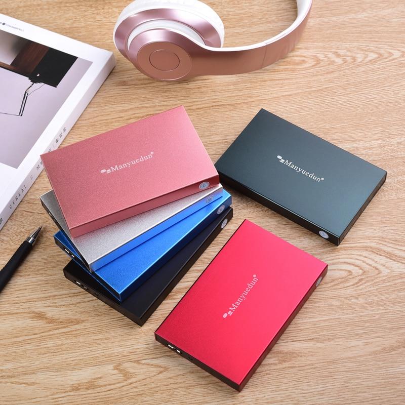 """MANYUEDUN 2.5"""" External Hard Drive Disk 120G 160GB 250GB 320GB 500GB 750GB 2TB 1TB HDD disco duro externo for Laptop/Mac/PS4/Xbo(China)"""