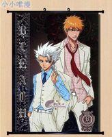 Japan anime Bleach Kurosaki ichigo Wall Scroll Home Decor Poster Free shipping