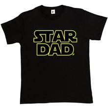 Printed Tee Shirts Short Printing Machine O-Neck Star Dad Science Fiction Parody Funny Wars T Shirts For Men