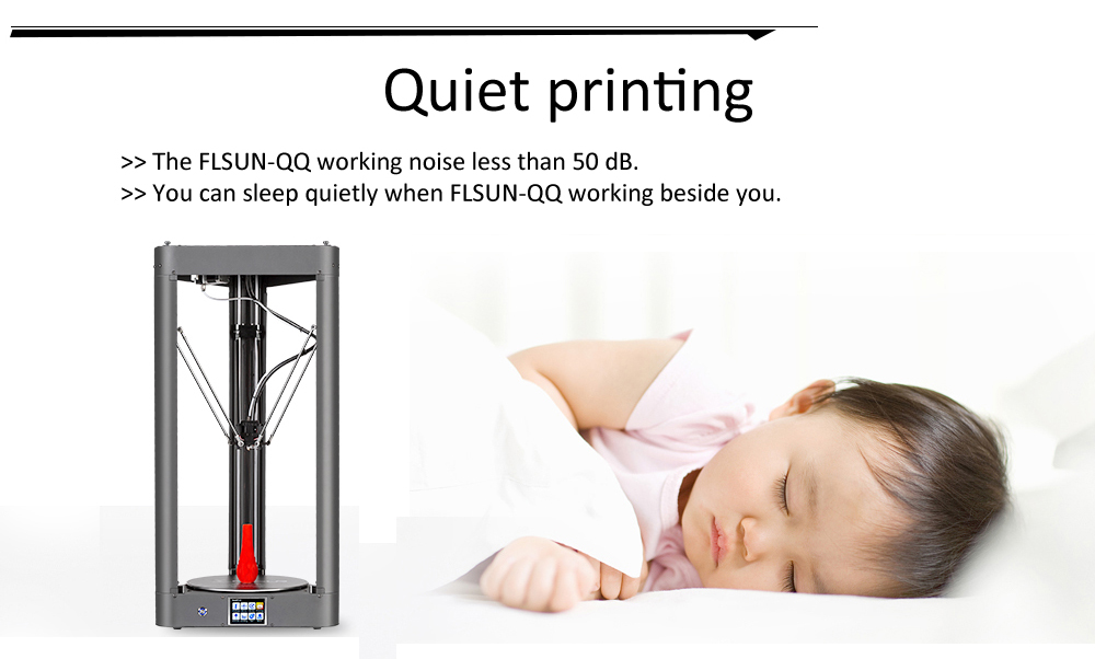 2019 3D Printer Flsun QQ-S Auto Leveling Pre-assembly Titan Touch Screen Lattice HeatBed 32bitsboad Ship from United States