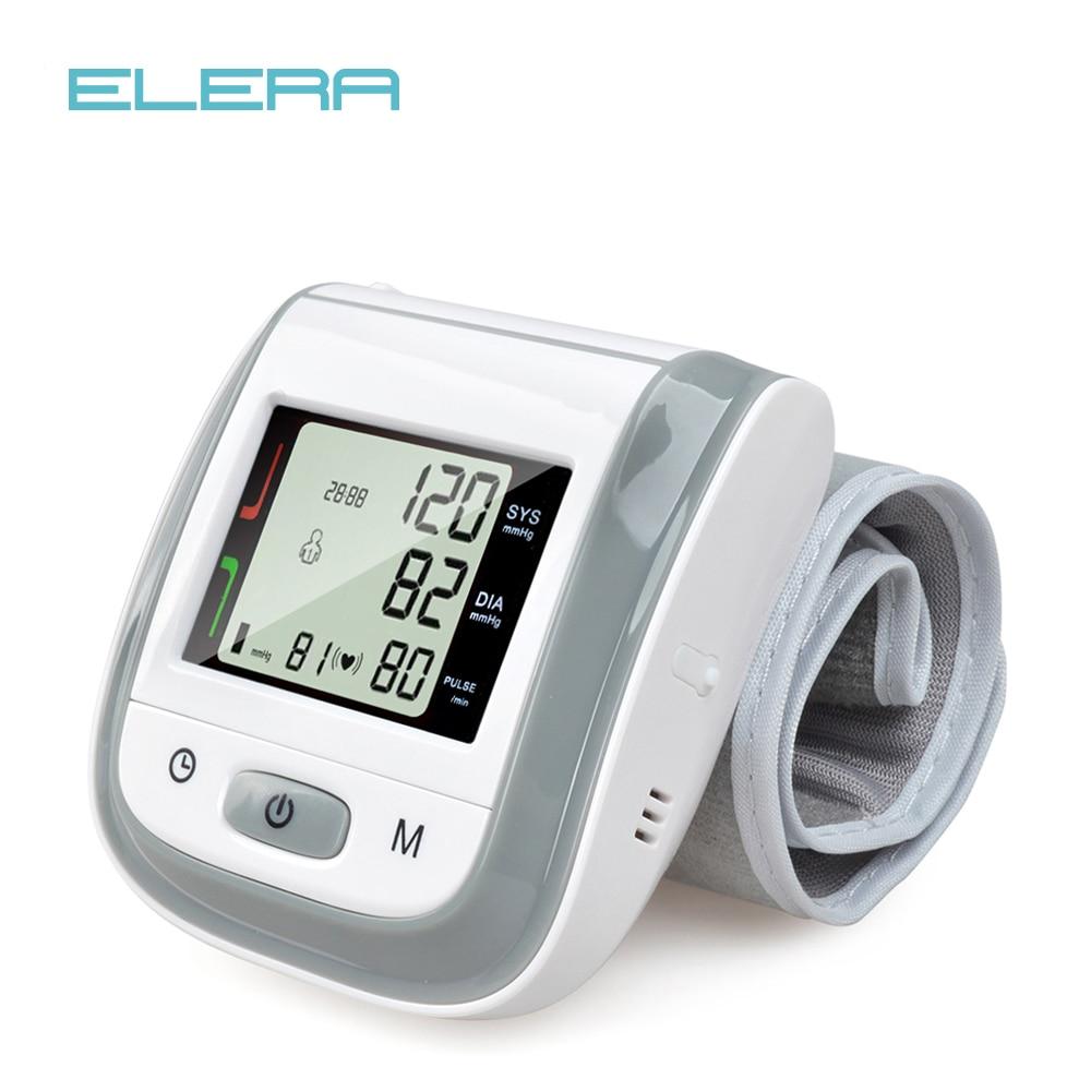 NEUE!! GRAU Automatische Handgelenk Blutdruck Monitor Digitale Handgelenk-blutdruckmessgerät Tonometer Blutdruckmessgerät Tensiometro