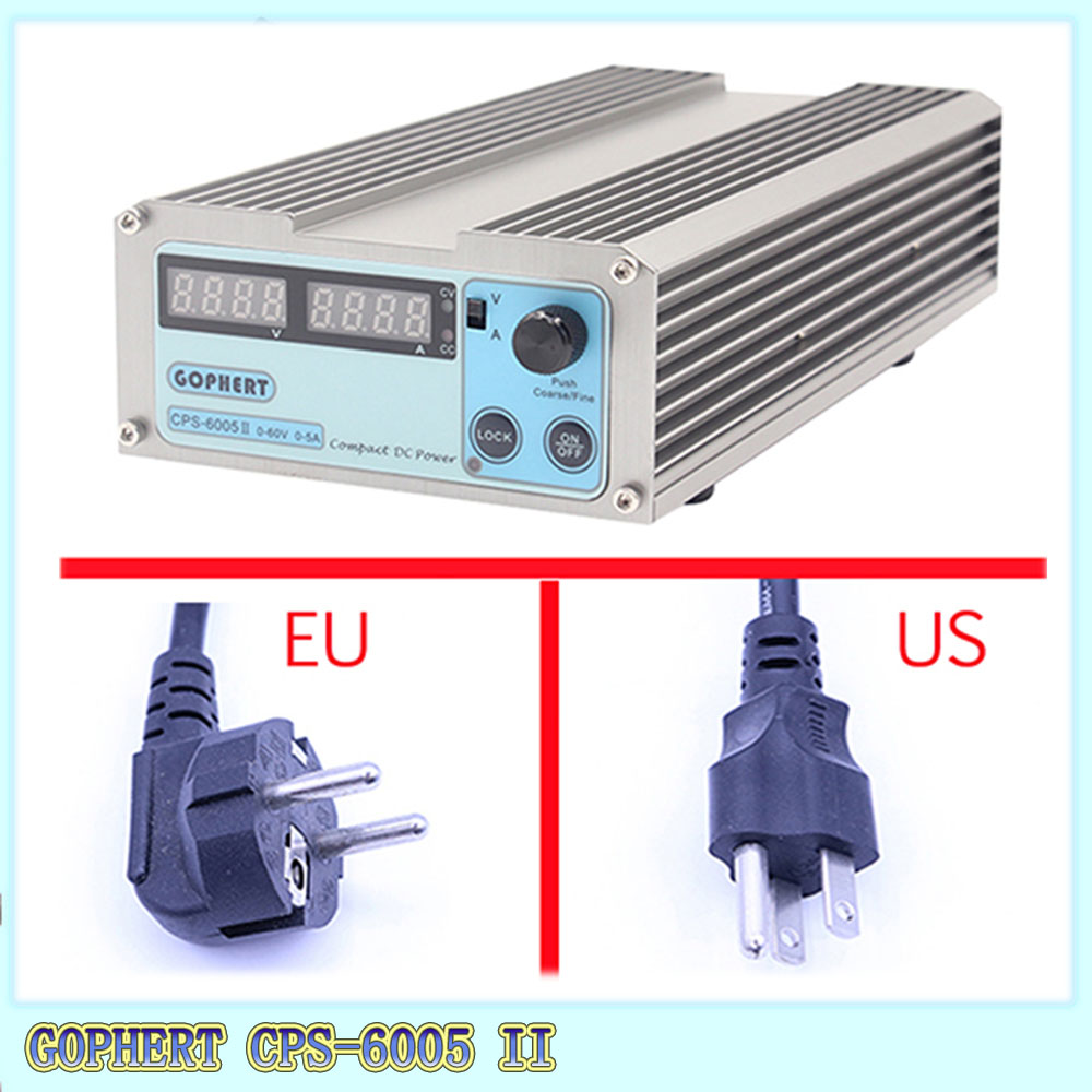 Gophert CPS 6005 CPS 6005II DC Switching Power Supply Single Output 0 60V 0 5A 300W