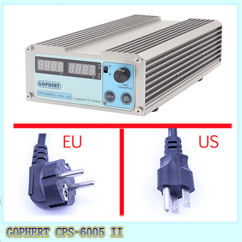 цена на Gophert CPS-6005 CPS-6005II DC Switching Power Supply Single Output 0-60V 0-5A 300W adjustable