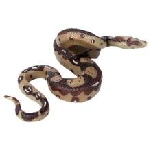 Simulation wild animal snake toy hovering big python giant model amphibious reptile whole