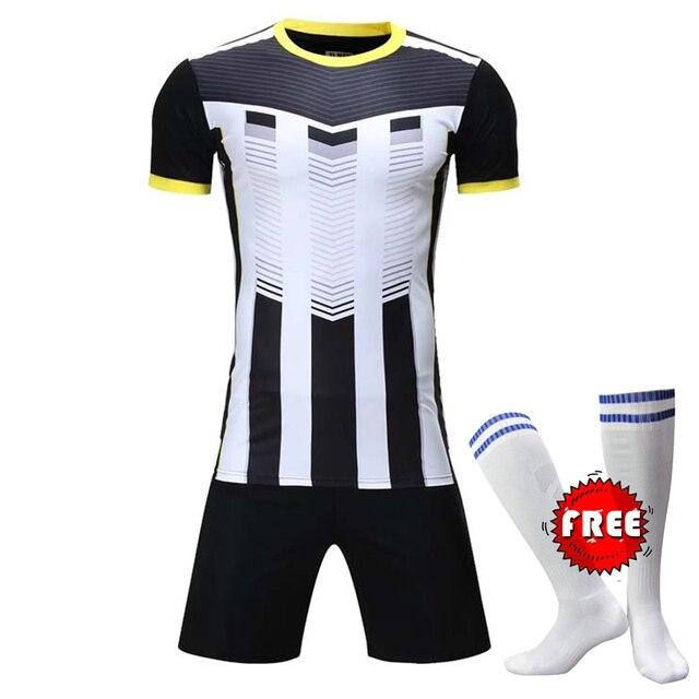 ef2b39ca70 Custom Professional Kit de Camisas De Futebol Adulto Definir Uniformes  Roupas de Futebol Barato Camisa Treino