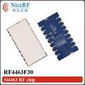 2 шт./лот RF4463F30 SI4463 915 МГц 1 Вт FSK Беспроводной Модуль Приемопередатчика