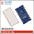 2pcs/lot RF4463F30 SI4463 915MHz 1W FSK Wireless Transceiver Module
