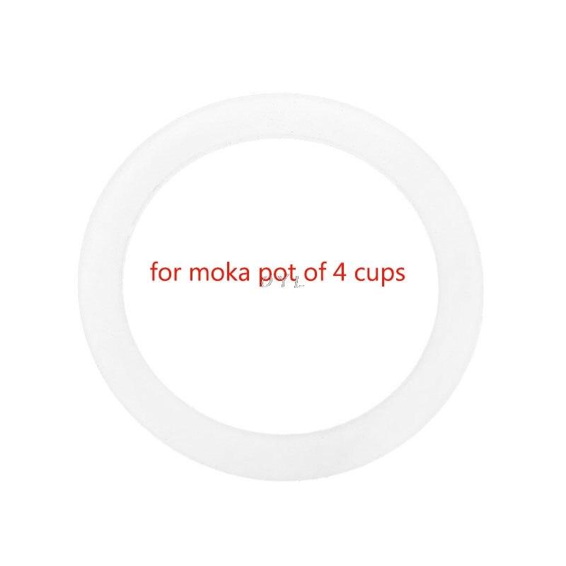 Силиконовое уплотнительное кольцо Гибкая шайба прокладка кольцо Replacenent для 4 чашки гейзерная кофеварка эспрессо кухня кофеварки интимные а...